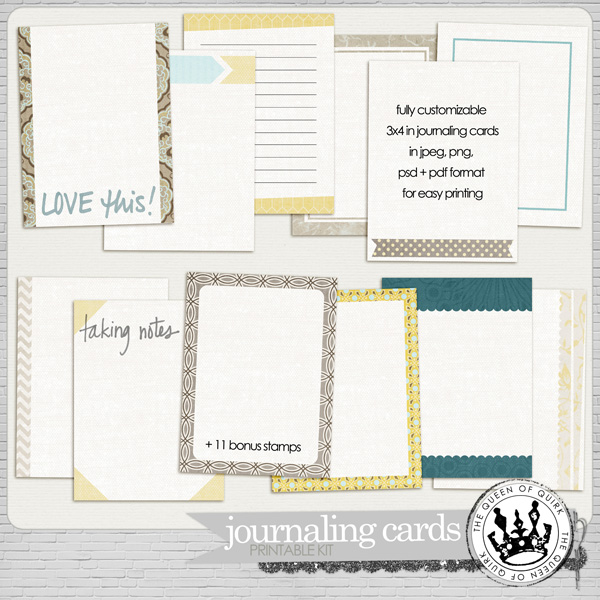QQ-journaling cards-preview